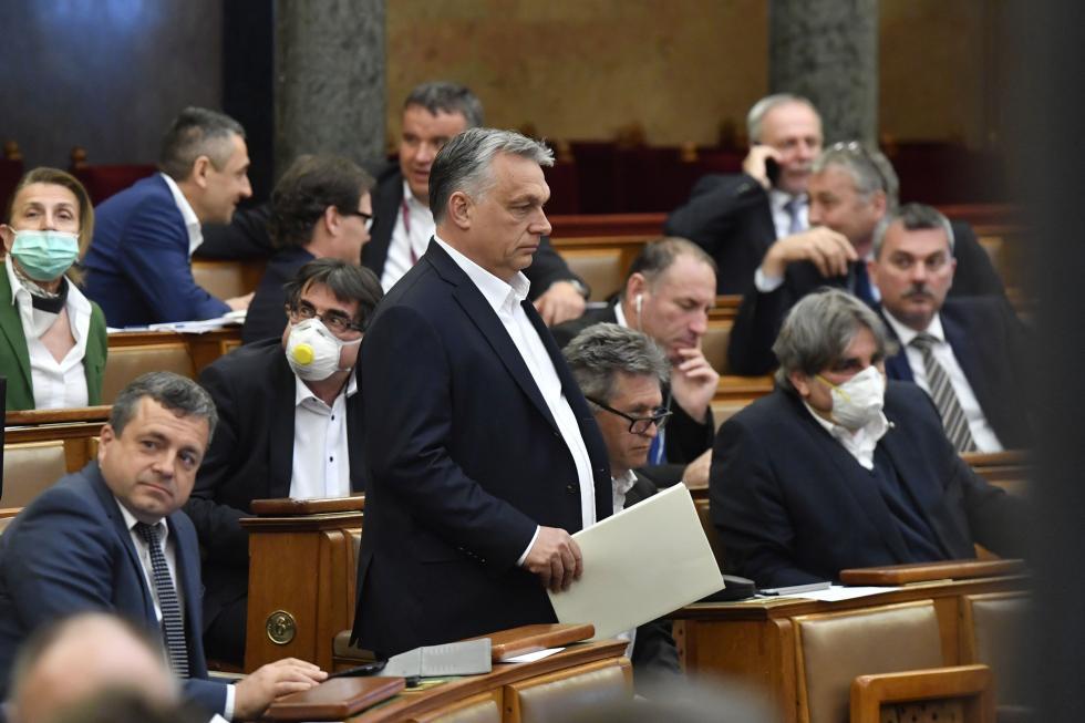 Viktor Orbán. Picture by Máthé Zoltán.