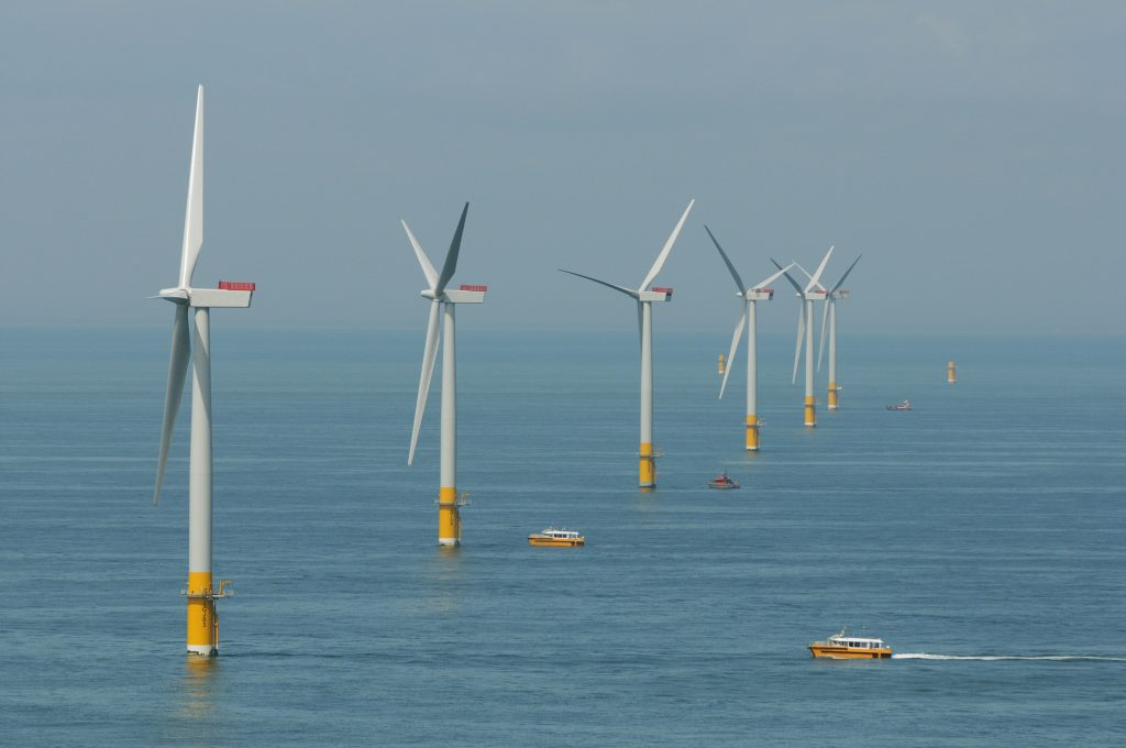 """""""Greater Gabbard wind farm"""" by Department of Energy and Climate Change is licensed under CC BY-ND 2.0"""
