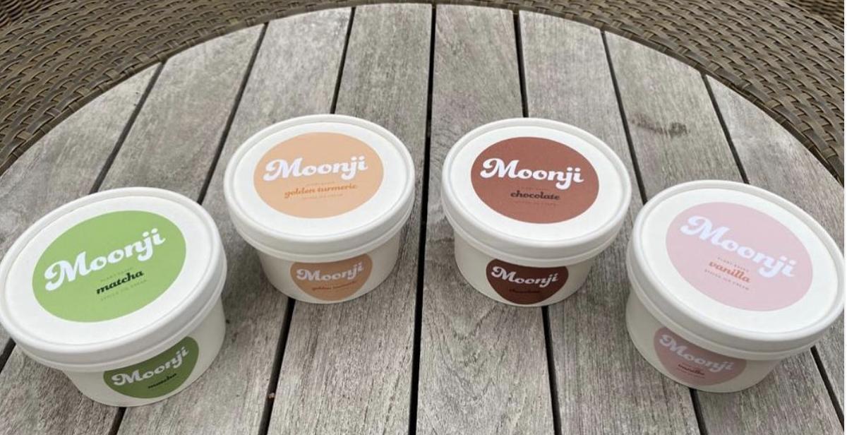 Ayurveda inspired ice cream from Moonji