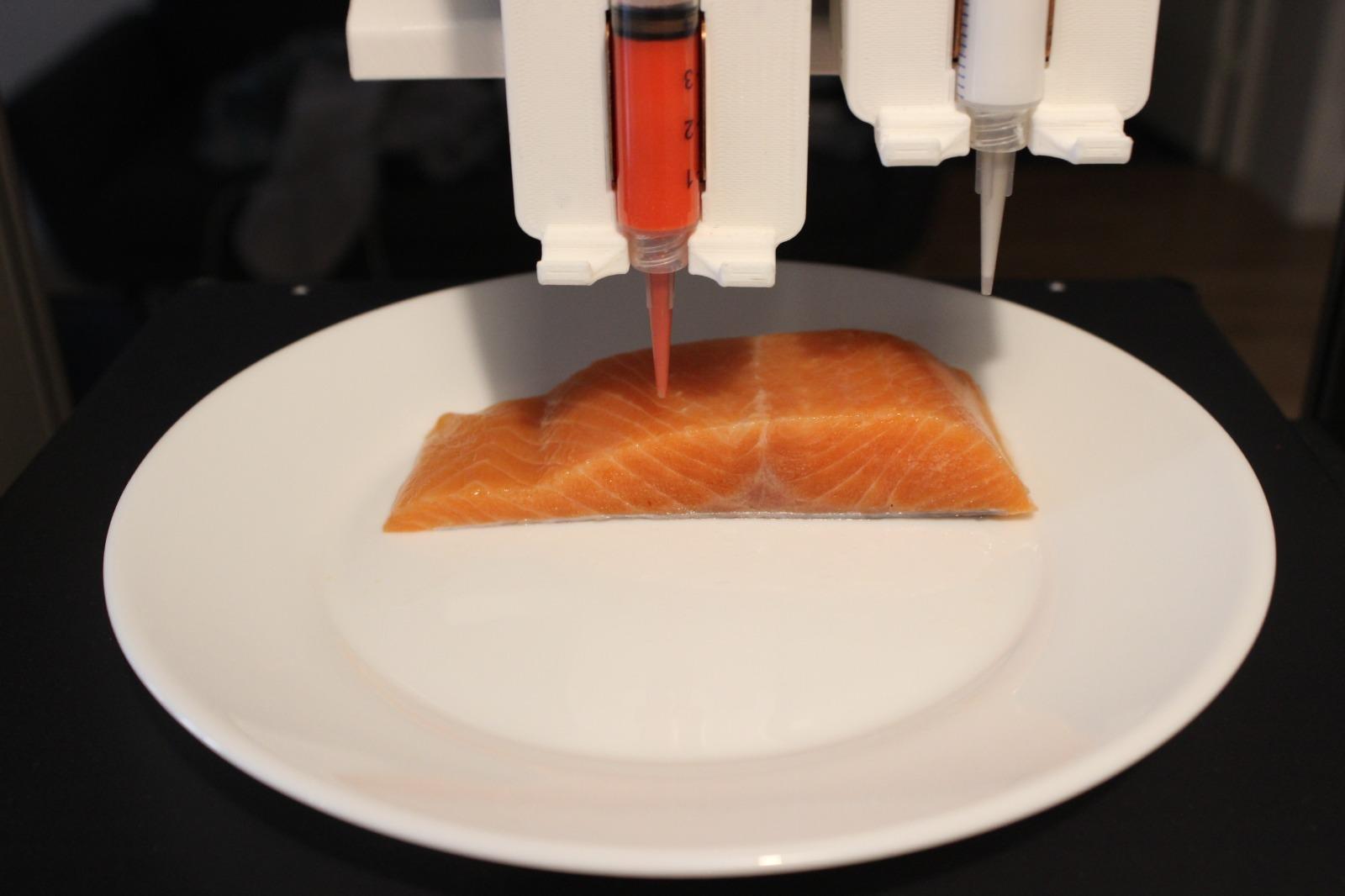 Salmon in the printing